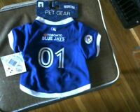 Licenced MLB Toronto Blue Jays Jersey for Dogs[new]