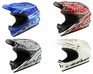 New in Box T.H.E. Full Face Bike Helmet MSRP $200 - 4 colours