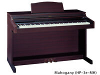 Roland HP-2E Digital Piano in Rosewood Full Size weighted keys 3 pedals