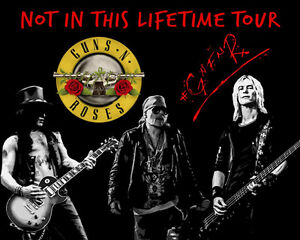 Guns N Roses Not In This Lifetime Tour Resale Tickets