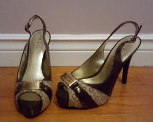 GUESS Shoes / Never Worn / Ladies Size 9 / Slingback Pumps  Edit