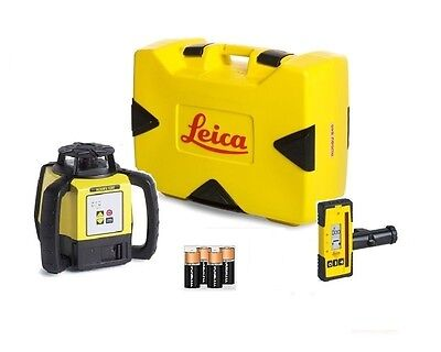 Rotating Laser Leica Rugby 620 W Rod Eye 140 Alkaline Package 6005983