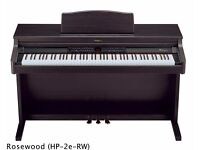 Roland HP-2E Digital Piano Full Size 88 weighted keys,3 pedals, Rosewood colour FREE DELIVERY
