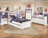 Twin Ashley furniture bedroom set Best price ever NEW IN BOX