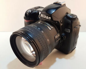 Nikon D-70 with Nikkor 18-70mm lens