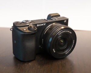 Sony A6300, 35mm, 50mm, adapter, more