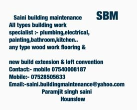 Saini building maintenance