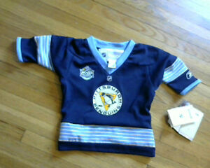 Baby Boys Pittsburg Penguins Winter Classic Jersy [new\