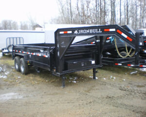 SAVE $$$$ on LowPro Dump Trailers at Automan Trailers$$