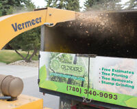 tree removals, pruning, chipper rentals