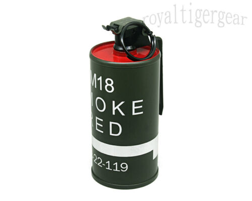 US Army USMC M18 Container Box Toy Stage Prop - Red Color Smoke Indicator