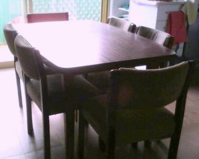 Dining Table & 6 Chairs North Strathfield Canada Bay Area Preview