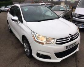 2015 15 CITROEN C4 1.6 E-HDI SELECTION 5D 115 BHP DIESEL