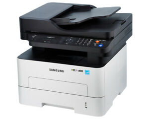 FOUR SAMSUNG WIRELESS ALL IN ONE LASER PRINTERS WITH INK