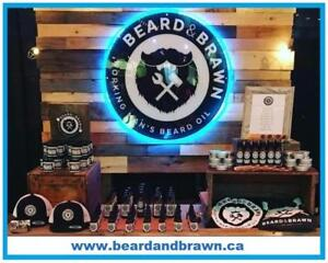 """All Natural """"Made In Canada"""" Beard Oil Grooming Products  by BEARD and BRAWN"""