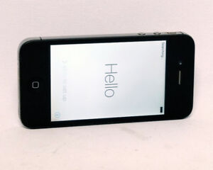 iPhone 4s 16GB Rogers Black Cell Phone Model A1387 $75.00