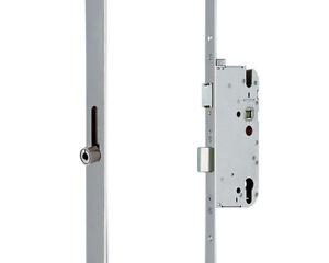 GU Mehrfachverriegelung Secury R4 Rollzapfen silber 65/92/10/16mm Flachstulp