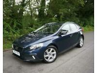 2015(64) VOLVO V40 1.6 D2 CROSS COUNTRY LUX 113 AUTOMATIC CASPIAN BLUE METALLIC