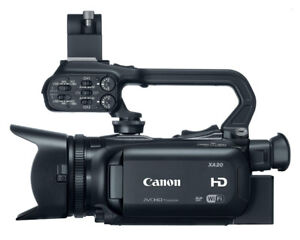 Canon XA20 Pro Camcorder with Ikelite Underwater Housing