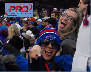 BUFFALO BILLS ALL-INCLUSIVE BUS TOURS