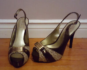 GUESS Shoes / Ladies Size 9 / Slingback Pumps - NEVER WORN!!!