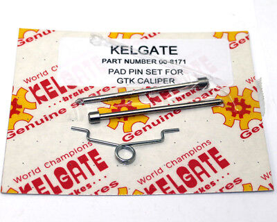 Kart Kelgate 2 Pot Caliper Pad & Pin Set - Best Price On Ebay - Great Value