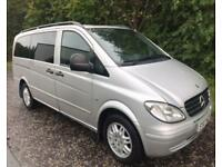 2007 07 MERCEDES-BENZ VITO 2.1 115 CDI LONG TRAVELINER 9 SEATER 146 BHP DIESEL