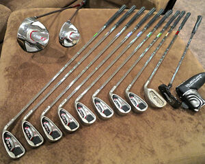 Ping G20 full set with Odyssey putter and cart bag
