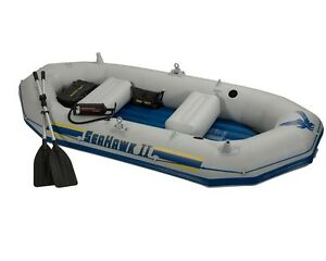 Raft Intex Seahawk II set (heavy duty)
