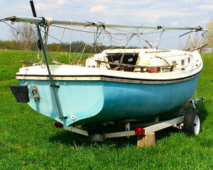 f you like to sail on a limited budget, this is your boat.  It c