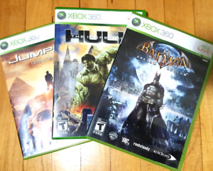 3 XBOX360 games for $20