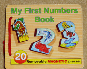 MELISSA & DOUG - My First Numbers Wooden Puzzle Book