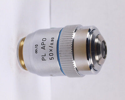 Leica Pl Apo 50x .90 Infinity Metallurgical Microscope Objective
