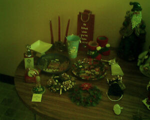 Assorted Christmas Items