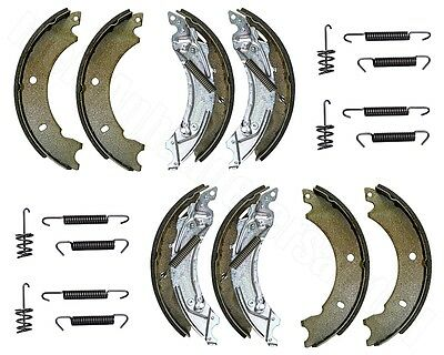 2x Bremsbacken Set für Knott Radbremse 20-2425/1 20-964/1 200x50mm Bremsbeläge N