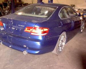 2007 BMW 335i for PARTS!! Blue in color!