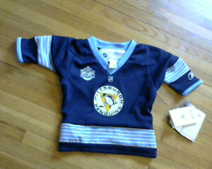 Baby Boys Licensed Pittsburg Penguins Winter Classic Jersey[new]