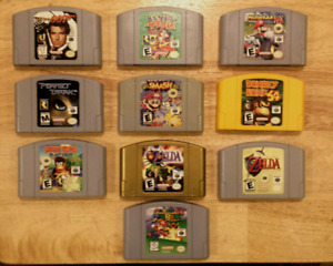 Assortment of N64/Nintendo 64 Games - Prices in description