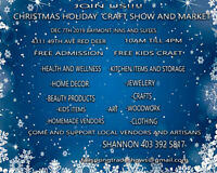 JOIN US! CHRISTMAS HOLIDAY CRAFT SHOW AND MARKET