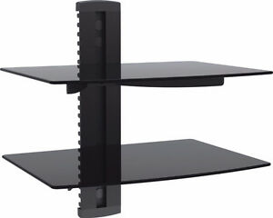 DVD player, 2 tier wall stand