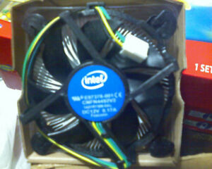 Intel Core I5 Stock CPU Cooler Heatsink and Fan - New