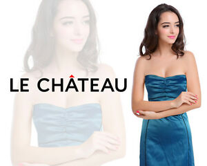 Grad / Prom / Wedding - Le Chateau Strapless Dress