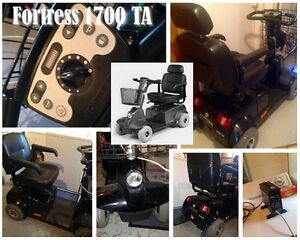 Fortress 1700 TA 4 wheel Chair scooter