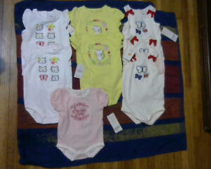 Baby girls Gymboree 8 Piece Bodysuit Lot[new] over 80% off