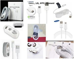 RAPID CHARGER CABLE USB LIGHTNING MICRO, USB TYPE C IPHONE SAMS