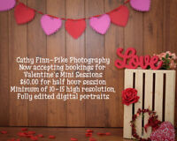 Now booking Valentine Portrait Sessions