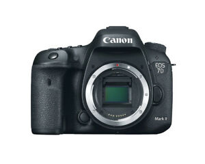 Canon EOS 7D Mark II Digital SLR Camera (Body ONLY) -- BRAND NEW