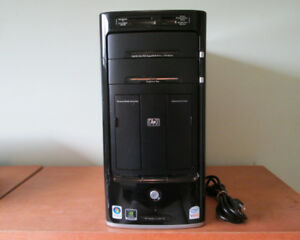 HP m8125x quad-core desktop (Q6600,4GB RAM,400GB HDD,HDTV tuner)
