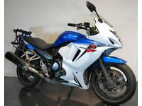 2012 12 SUZUKI GSX 650 F ABS FAIRED BLUE BANDIT PROJECT/TRADE SALE GSX650F 24K