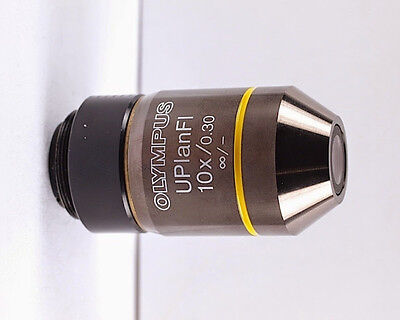 Olympus Uplanfl 10x .30 Microscope Objective For Bx Ix W Nd Filter